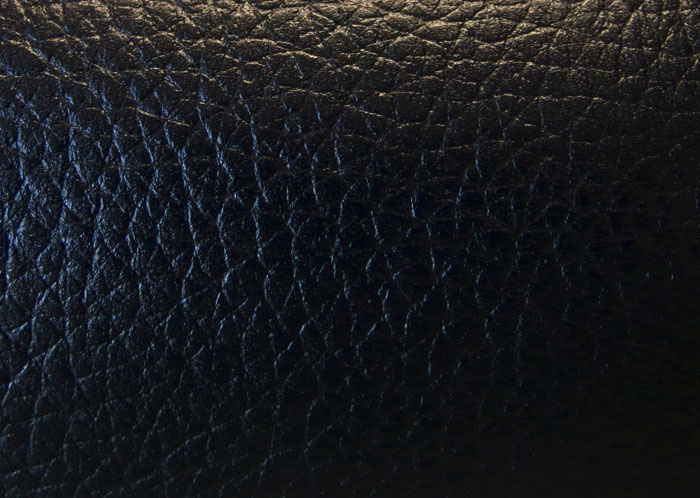 Cowhide skin for post