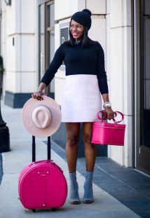 Holiday Outfit and gifts from Henri Bendel