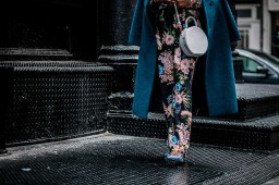 Fashion blogger wearing floral suit during nyfw. How to wear a power suit-12