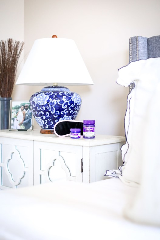 How I used ZzzQuil PURE Zzzs Melatonin Gummies and Vicks PURE Zzzs Soothing Aromatherapy Balm to get a good night sleep by Atlanta fashion and lifestyle blogger_