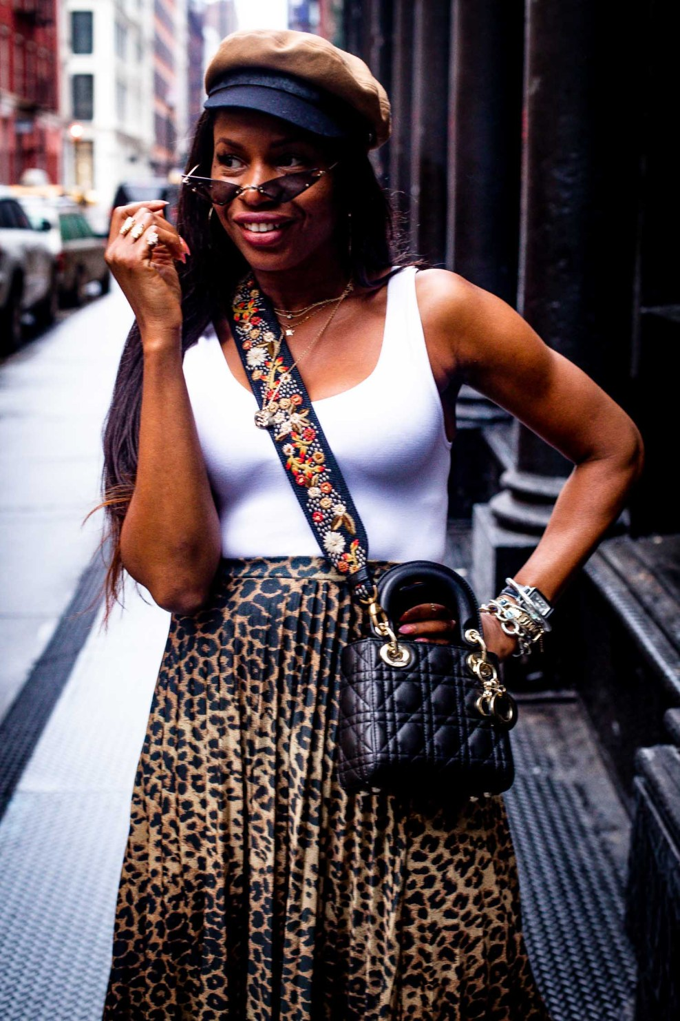 How to wear the new leopard