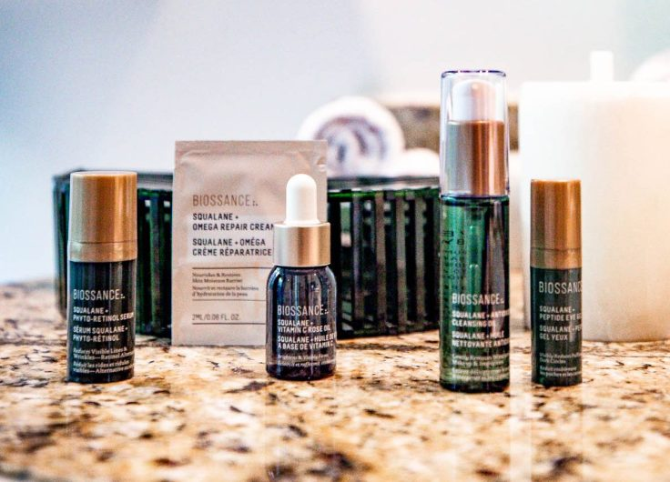Atlanta lifestyle blogger Monica Awe-Etuk giving the gift of Biossance for the holidays