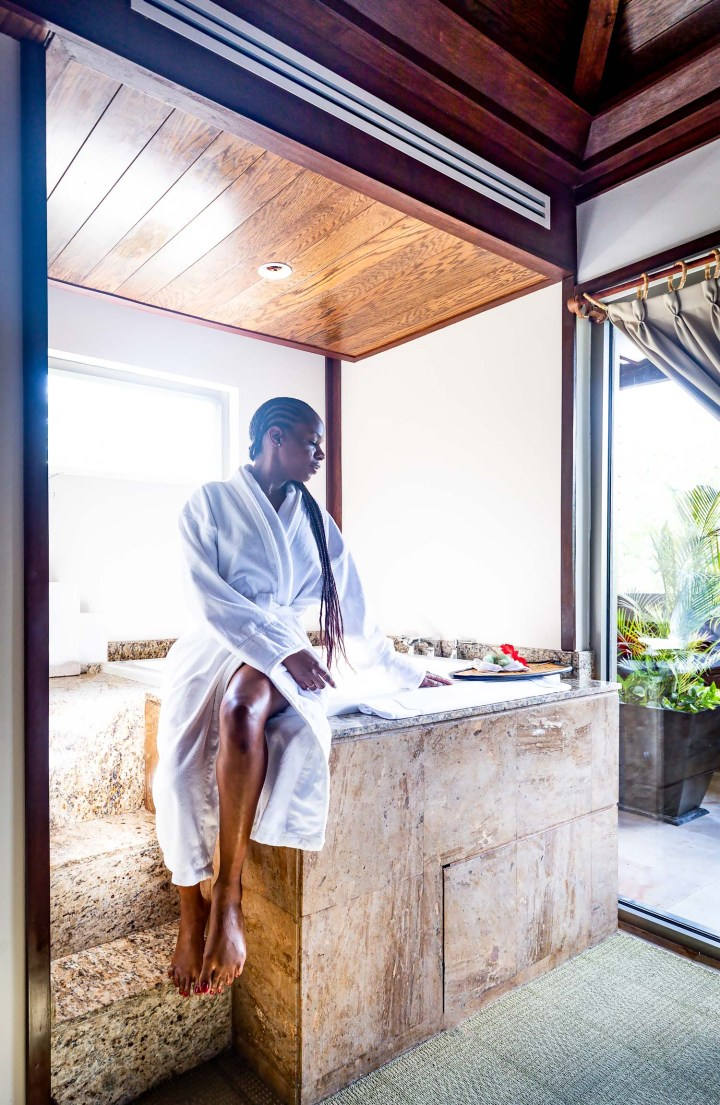 Atlanta lifestyle blogger Monica Awe-Etuk has a spa day at the fairmont mayakoba mexico-2