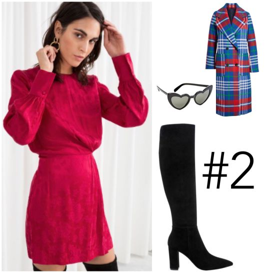 Atlanta fashion blogger Monica Awe-Etuk shows you want you need to wear for valentines day.