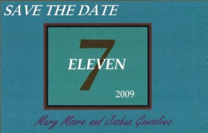 Save the Date Card Simple Elegance Events and Wedding Designs