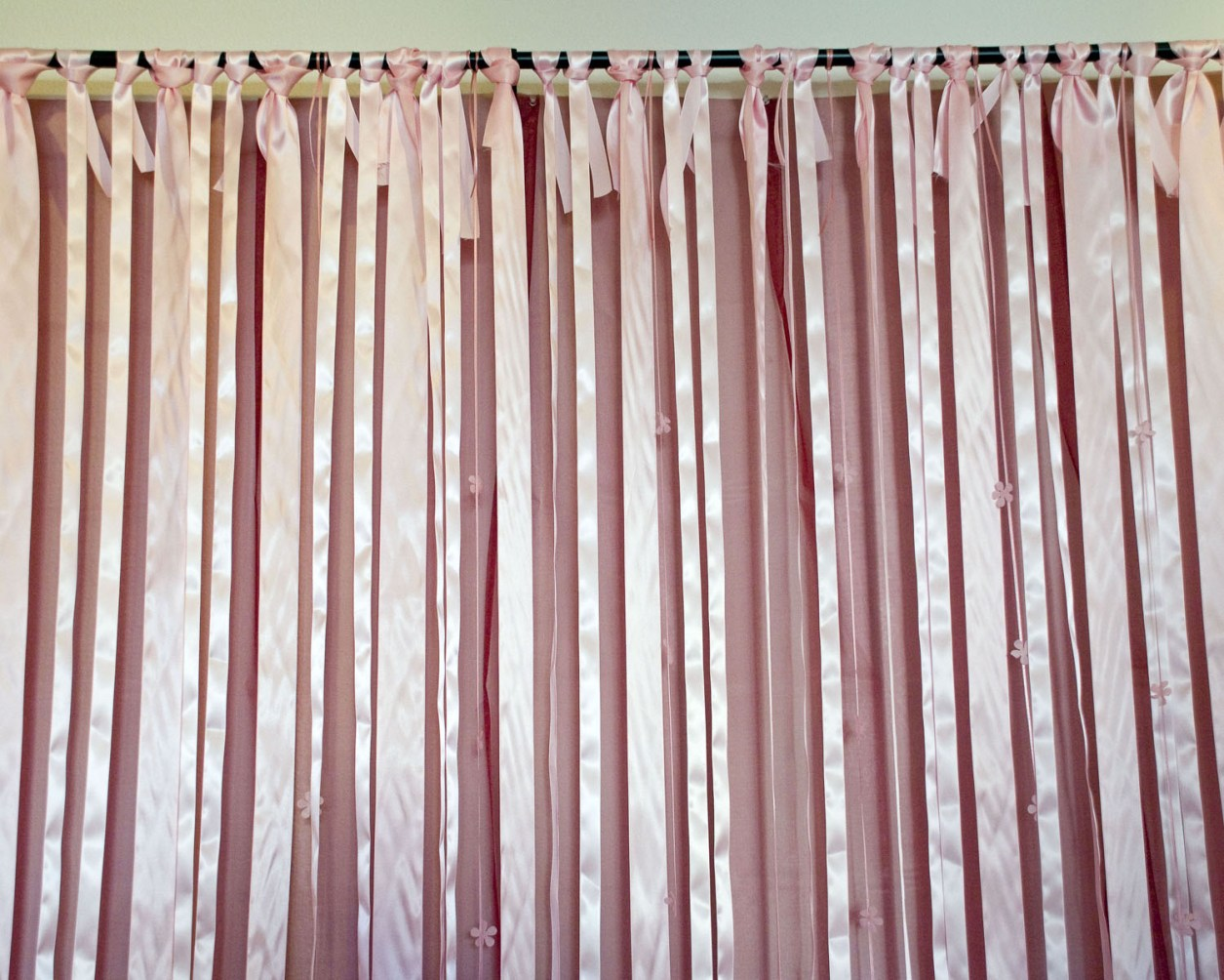 Ribbon Backdrop | A Well Crafted Party