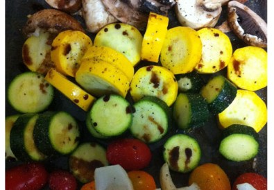 Grilled Summer Salad // A Well Crafted Party