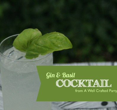 Gin Basil Cocktail