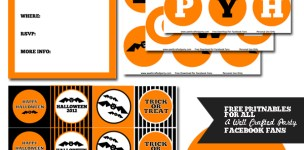 Free Halloween Printables in Use