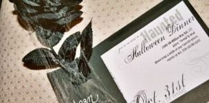 Real Party: Haunted Halloween Dinner Party