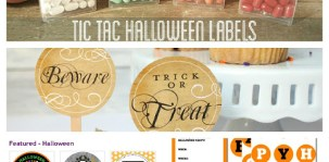 Friday Finds: Free Halloween Printables 2012