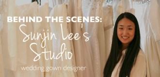 Behind the Scenes: Sunjin Lee Wedding Dress Designer
