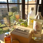 Lemon Ginger Drop Cocktail // A Well Crafted Party