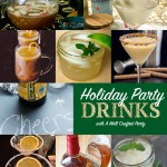 Holiday Party Drinks // A Well Crafted Party