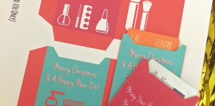 Free Printable Beauty Gift Card Holder // A Well Crafted Party
