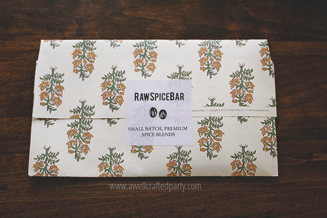 RawSpiceBar spice subscription service featured on A Well Crafted Party