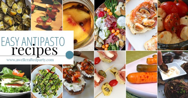Easy Antipasto Recipes