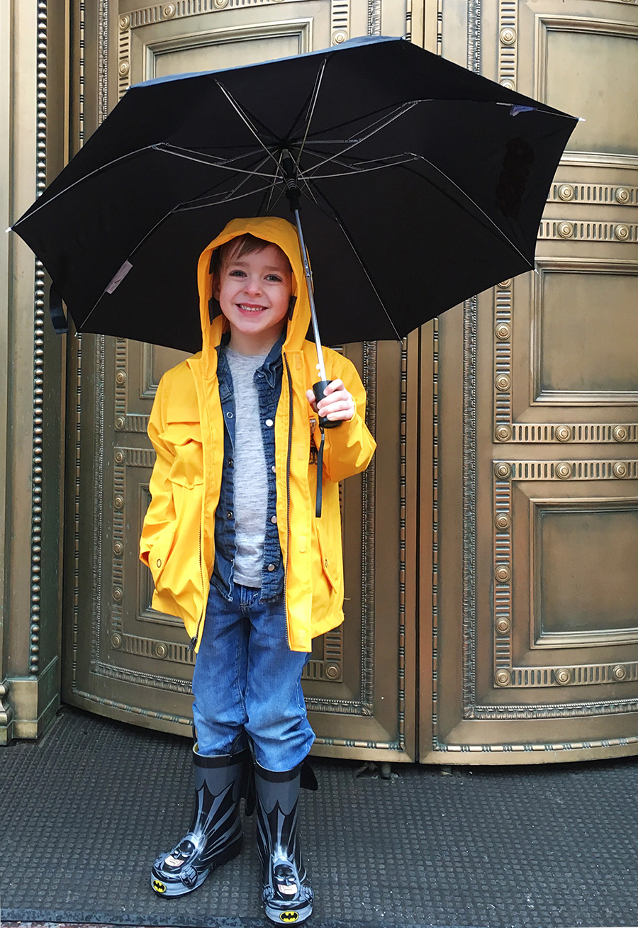 #spon Kiddo is ready for a Pacific Northwest Spring with his rain gear! - A Well Crafted Party