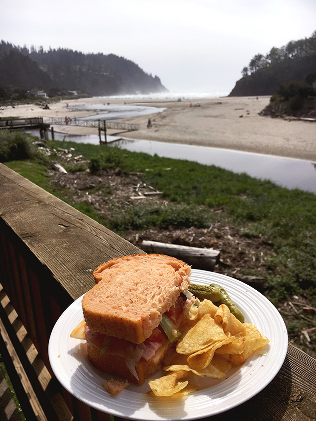 Sandwich, Chips & Beach... oh my! A Well Crafted Party