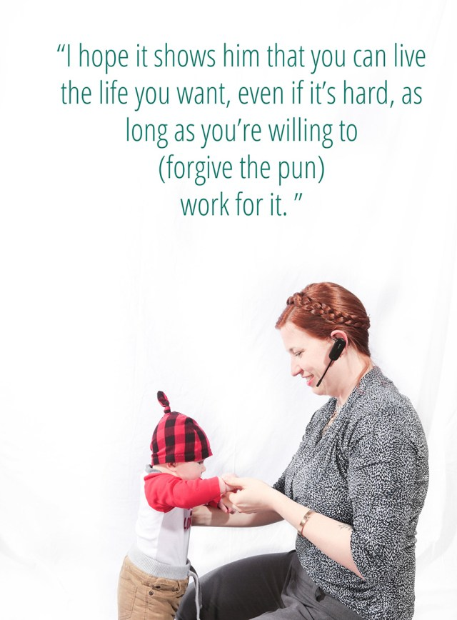 We work to change the world for our children. Stories on Working Moms at A Well Crafted Party. Photography by www.mommabearmag.com