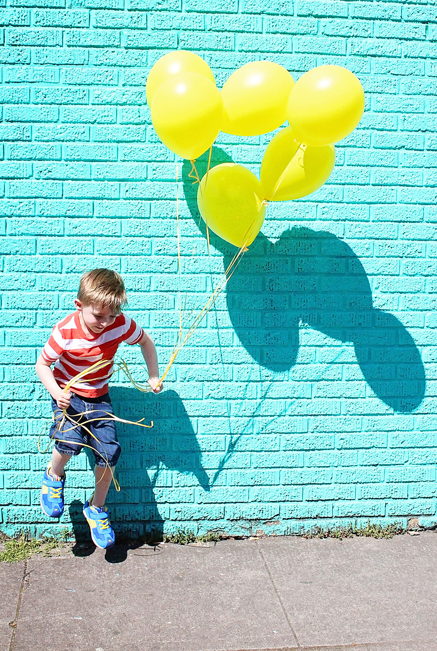 Bright Colored Child Clothing Style featured on A Well Crafted Party