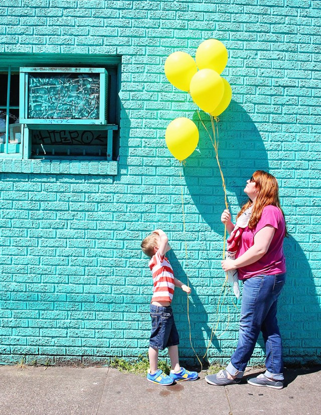 Bright Colored Child Clothing Style featuring IFME shoewear for kids sponsored post featured on A Well Crafted Party