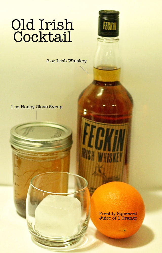 Old Irish Whiskey Cocktail