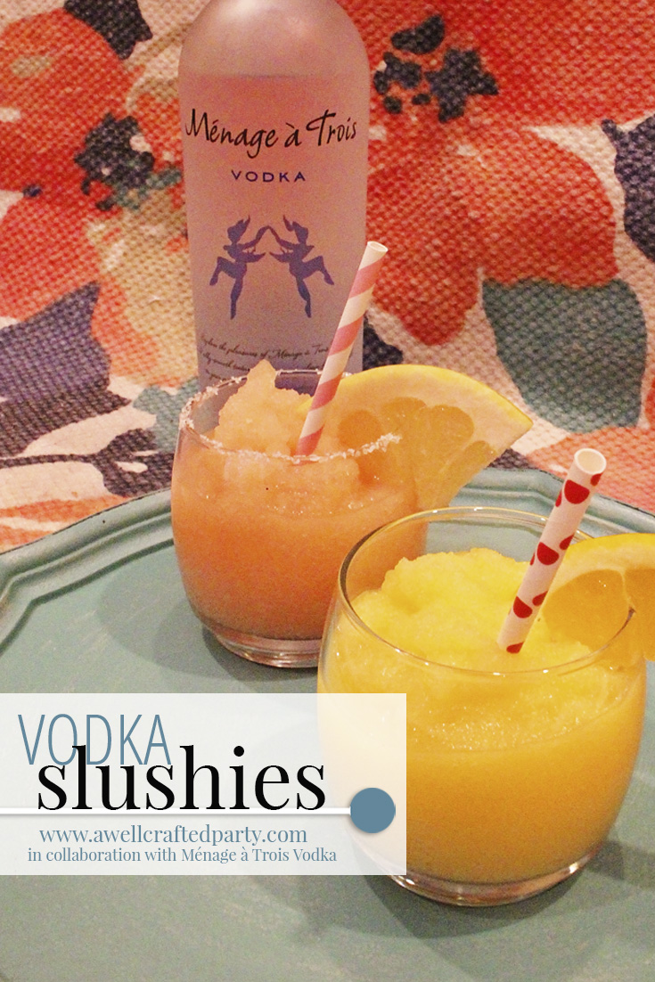 Vodka Slushies