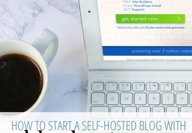 How to Start a Self-Hosted Blog from A Well Crafted Party