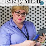 DIY Felicity Smoak Costume with Deseret Industries