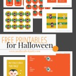 Free Halloween Printables from A Well Crafted Party