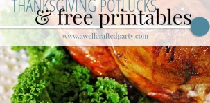 Thanksgiving Potlucks - A Well Crafted Party