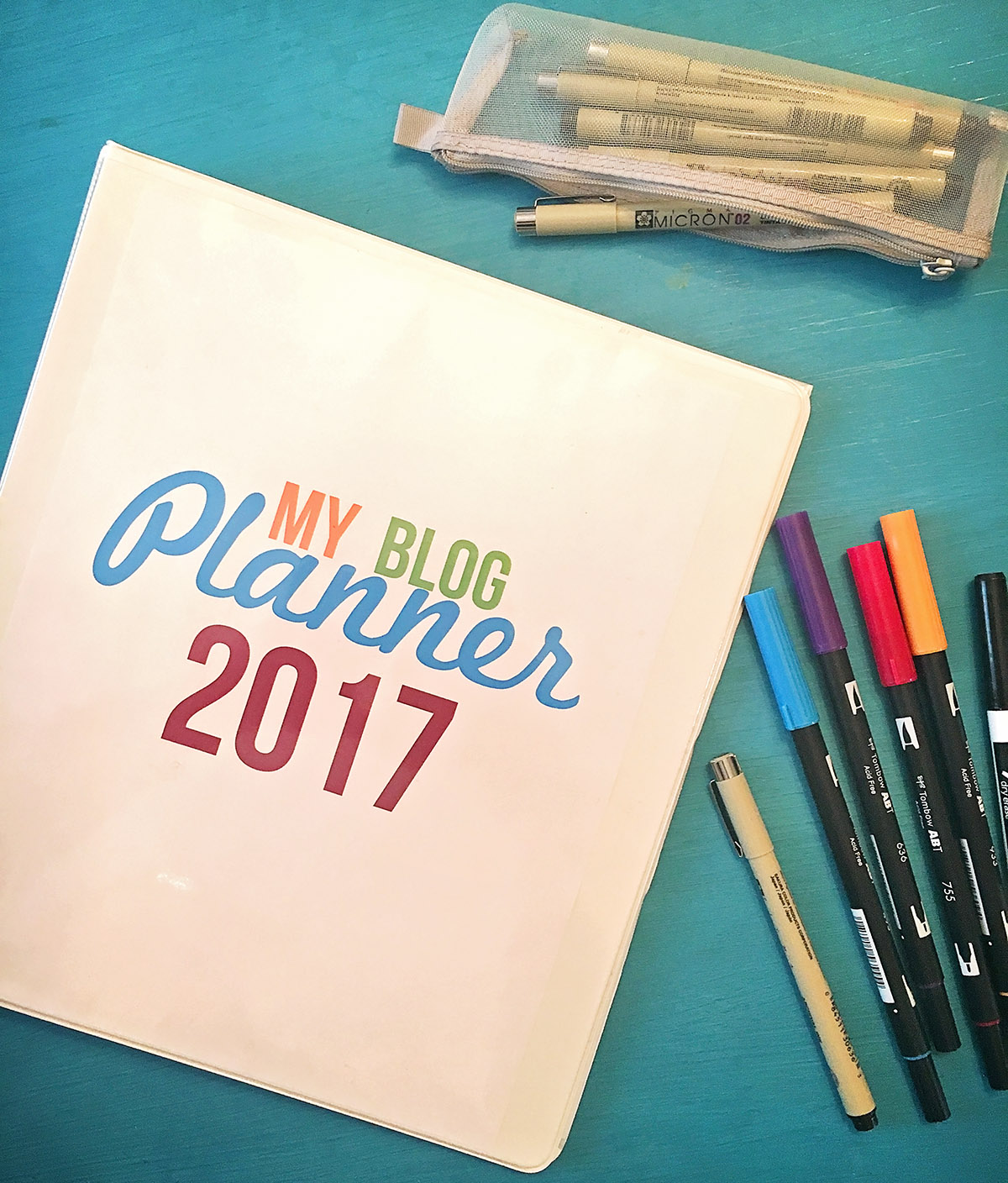 Free Printable Blog Planner 2017 Edition - A Well Crafted Party