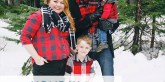 Holiday Family Photos featured on A Well Crafted Party