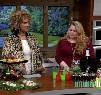Holiday Party Tips on KATU Afternoon Live - A Well Crafted Party