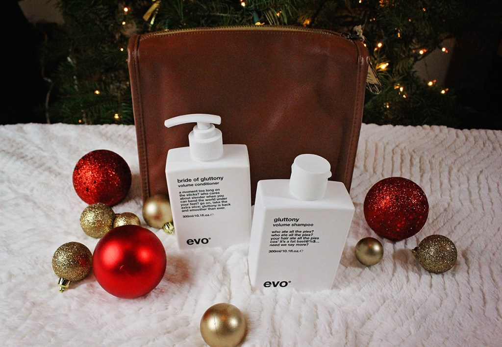 Holiday Gift Guide - Sponsored - EVO hair products have personality and integrity and are a welcome addition to my Christmas tree! - A Well Crafted Party