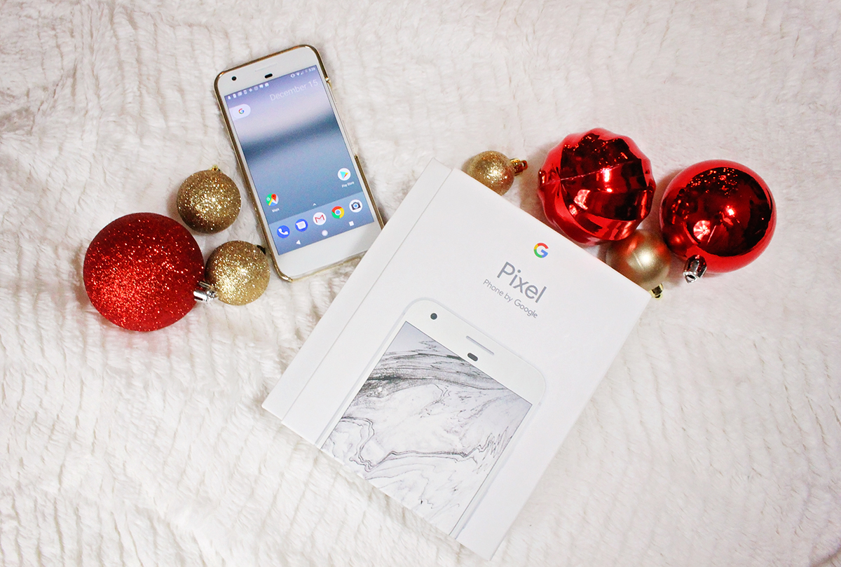 Google Pixel for Christmas - Read a blogger's review - A Well Crafted Gift Guide (Sponsored)