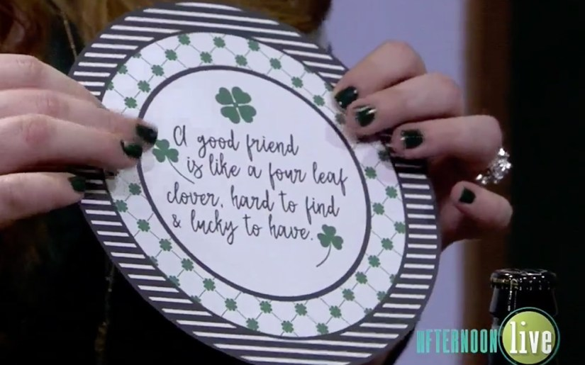St Patty's Day Printables from A Well Crafted Party