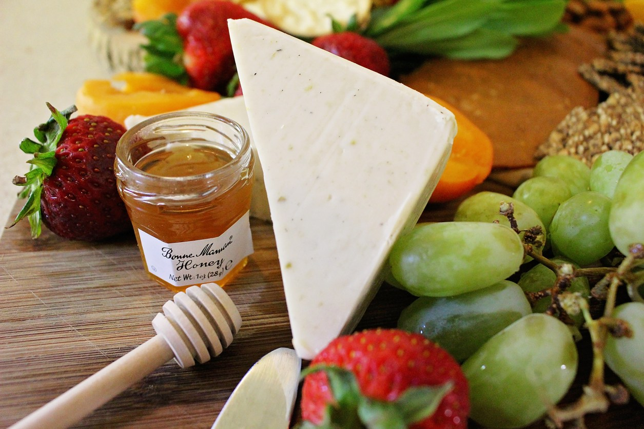 Vegan Cheese Board crafted by This Beautiful Day | Featured on A Well Crafted Party