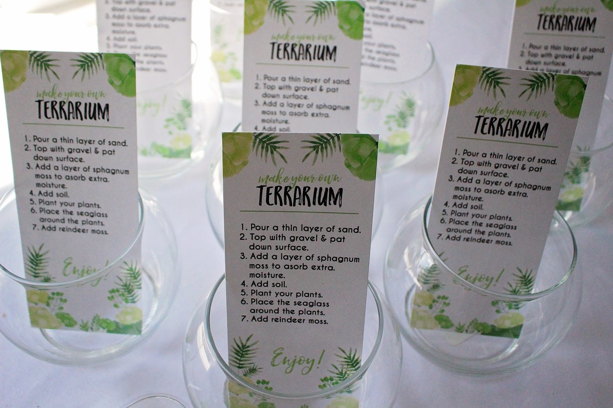 Green and White Baby Shower | A Well Crafted Party