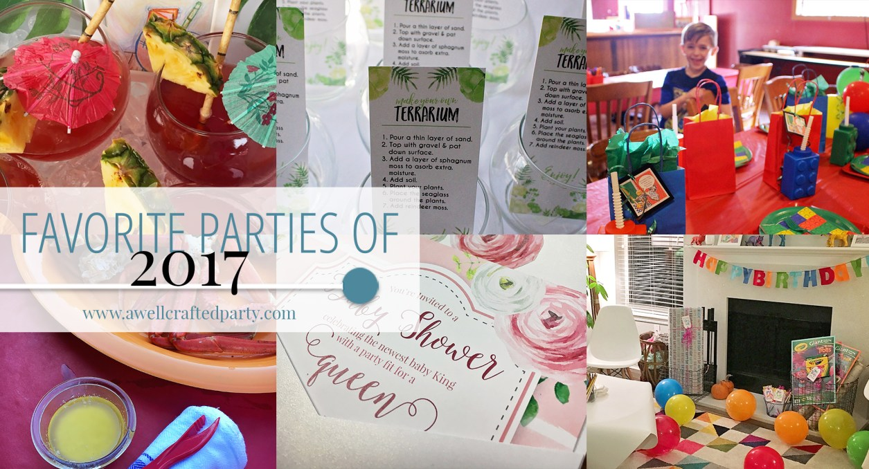 Favorite Parties of 2017 | A Well Crafted Party