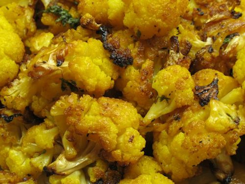 Roasted Orange Cauliflower Recipe
