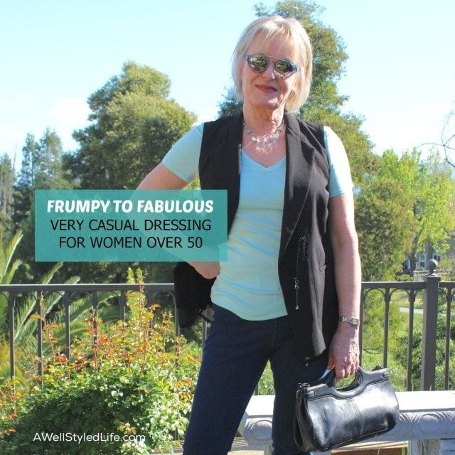 Very Casual Dressing for Women Over 50: Frumpy to Fabulous