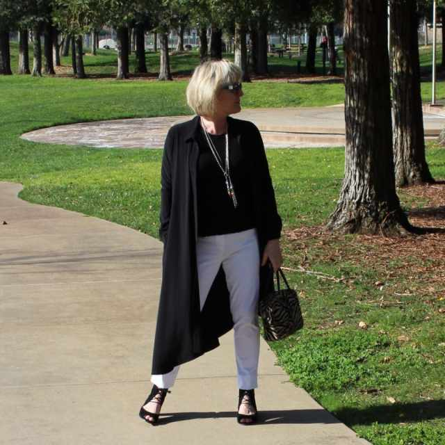 Look of the Week: White and Black