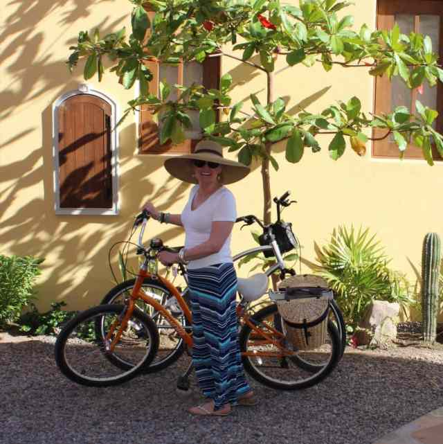 grandmother chic in Loreto bay