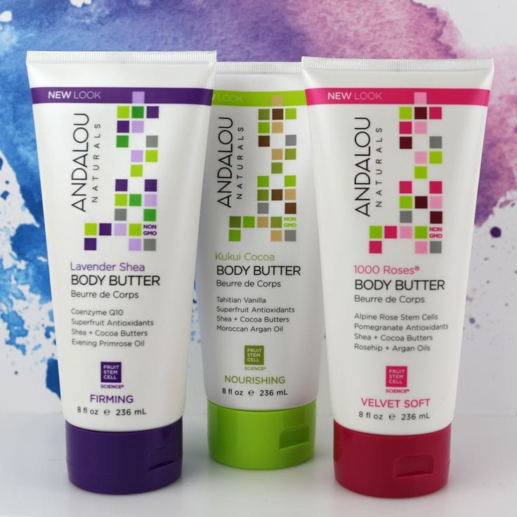 Andalou Naturals Body Butter on A Well Styled Life