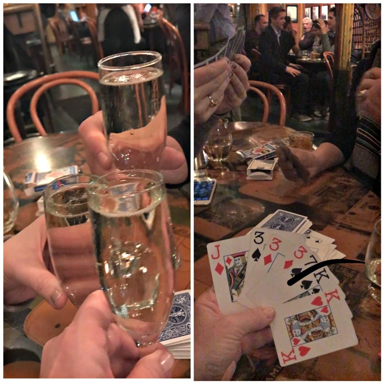 rousing card ganme at vesuvios in SF on A Well Styled Life
