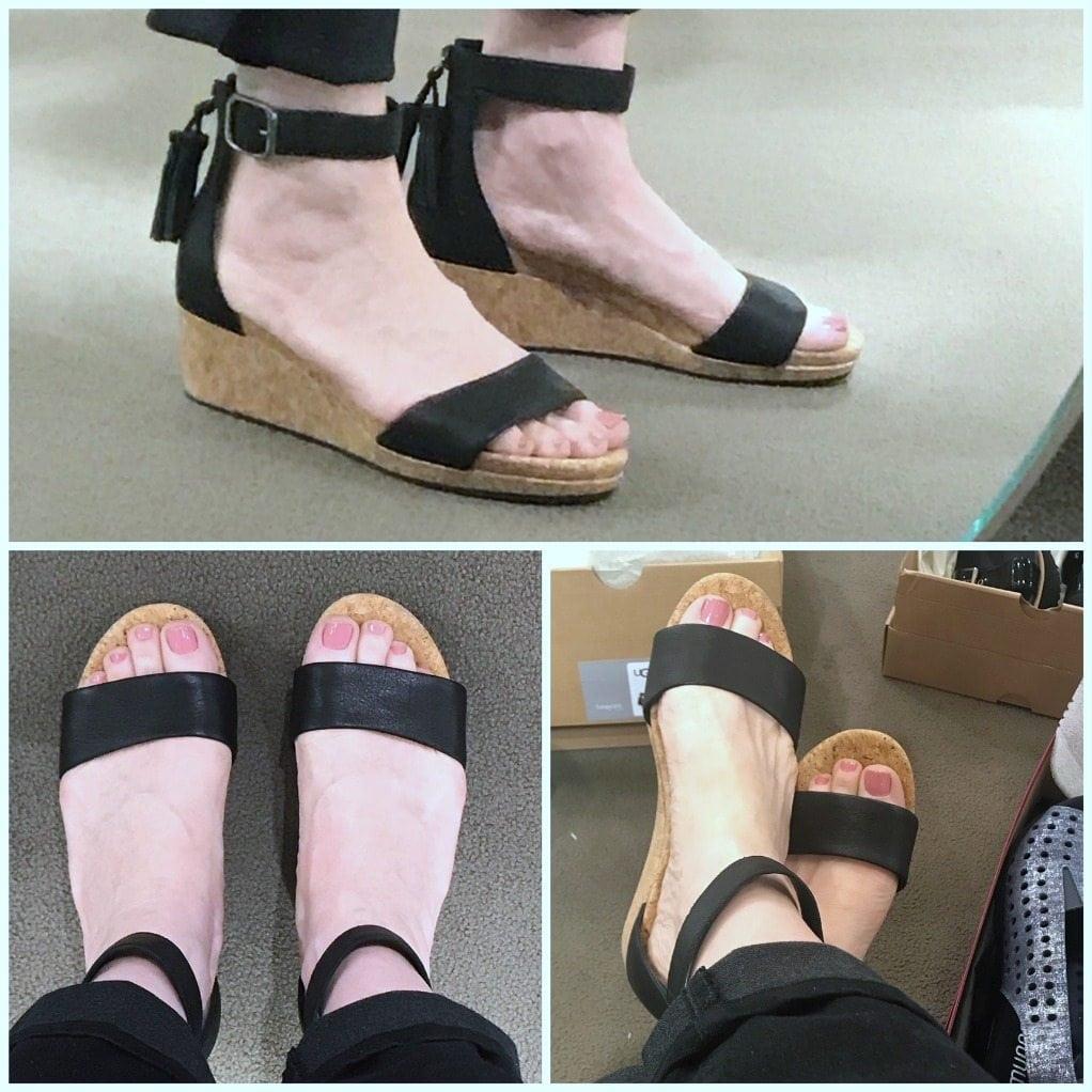 UGG® Traci Espadrille Wedge Sandals UR8l1L