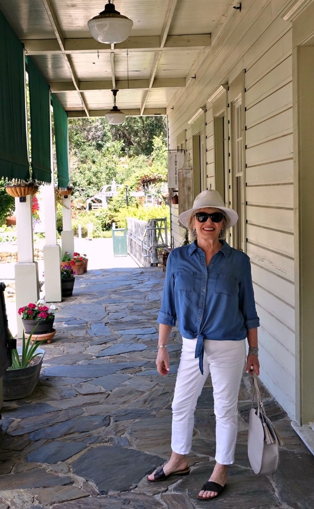 Jennifer Connolly of A Well Styled Life exploring Amador City