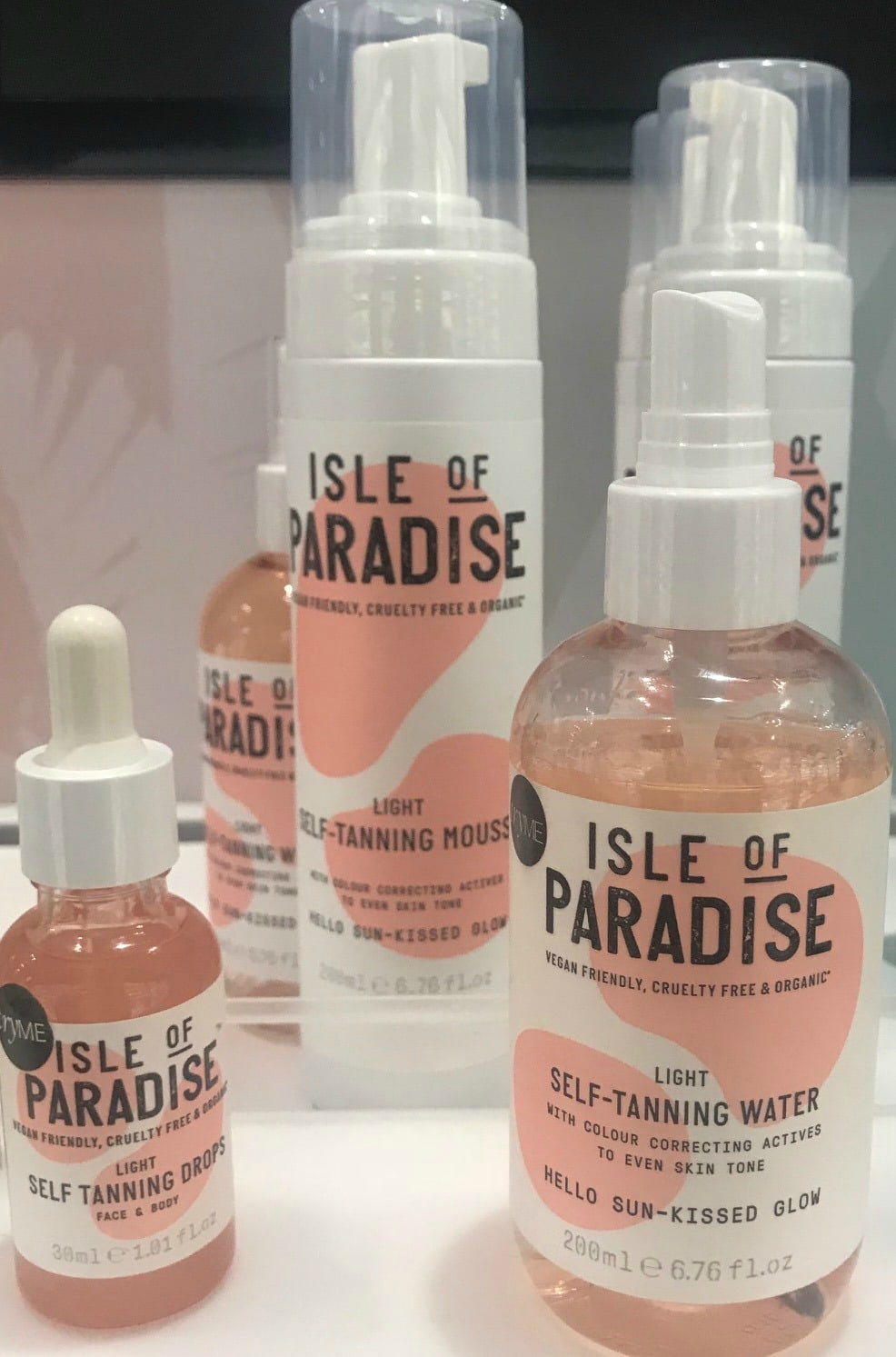 Isle of Paradise self tanner on A Well Styled Life